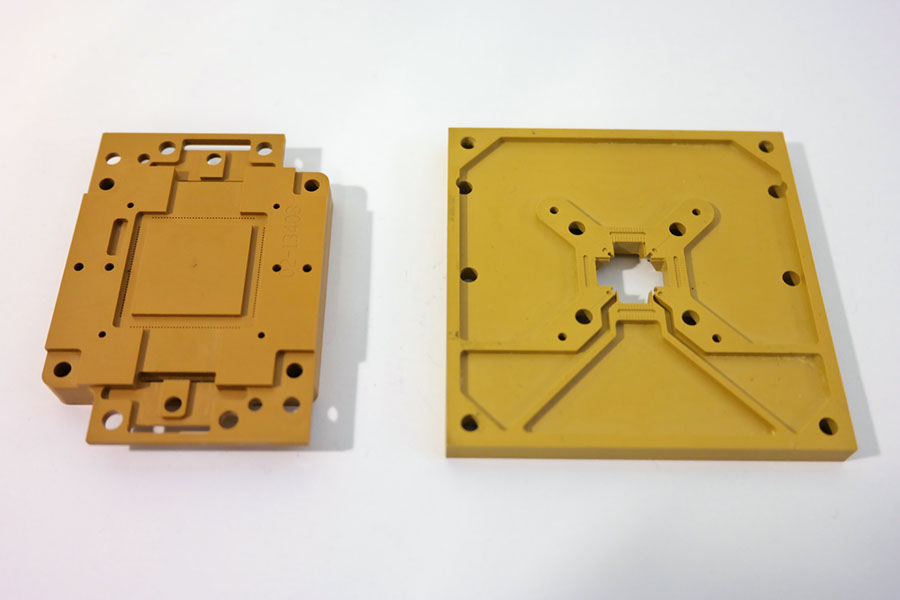 Unfilled PAI test sockets